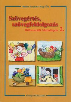 Marci fejlesztő és kreatív oldala: Szövegértés szövegfeldolgozás 2. o Dysgraphia, Preschool, Teacher, Activities, Writing, Education, Comics, Learning, Books