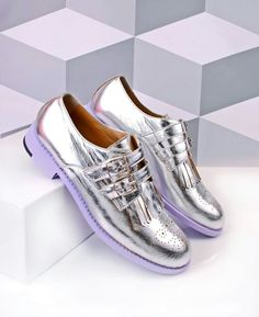 ABO silver fringed brogues with buckle fastening! Available at www.abo-shoes.com #aboshoes #ABO #shoes #oxfords #brogues #original #unique #style #fashion #fashionista #belgrade #musthave #handmade #quality #qualityshoes #silver #silvershoes #buckleshoes #fringed #fringes #flats #flatshoes