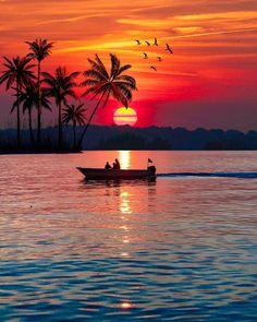 The beautiful sunset registered b Adventure World, Nature Adventure, Adventure Travel, Beautiful Sunset, Beautiful Beaches, Cool Pictures, Cool Photos, Amazing Sunsets, Belle Photo