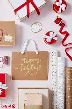 9f95f343bf8 ... Sugar Paper giftwrap will make your packages shine this season. Choose  from a variety of wrapping paper designs, boxes, ribbon, gift bags and gift  tags.