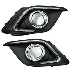 AutorEC 2x White Tube LED Daytime Running Lights | #2X #45cm #AudiStyle #Automotive #Cobblehome™ #Daytime #DRL #for #Headlight #Led #Light #Strip #Switchback #Tube #1.5 #Chrome #Clear #Expedition #Ford #Headlights #Housing #Indicator #LENS #Projector #with #1x18650 #1xXML #5Mode #Black #Flashlight Extension #PT40 #Sport #Tactical #TANK007 #TKOUXIN #Tube(1000LM #U2 #12V #2*45cm #Bulb #Car #Driving #EverTrust(TM) #External #Lamp #lights #Running #Style #Universal #White Yellow #2pcs #White…