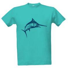 Tričko s potiskem swordfish