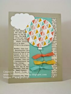 Did You Stamp Today? - All Occasion Balloon  Uses: Celebrate Today, Balloon Framelits, Best Year Ever DSP, Stampin' Up!, SU