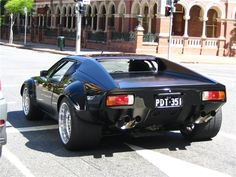 De Tomaso Pantera, yeah it was Ford powered too! :)