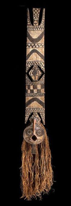 Mask from the Bwa people of Burkina Faso