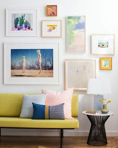 A few great examples on how to decorate with pastels.