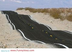 cool Drive To Straight On Road - funny road pictures