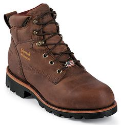 Chippewa Bay Crazy Horse Waterproof Style Men Shoes 25203