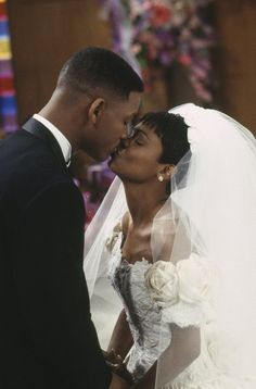Still of Will Smith and Nia Long in The Fresh Prince of Bel-Air (1990)