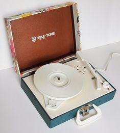DIY   Cover A Vintage Turntable   Poppytalk