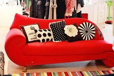 Whimsical couch!