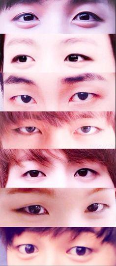 BTS Eyes <3