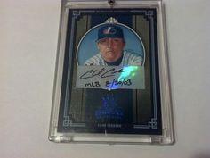 (2005) Diamond Kings Framed Blue CHAD CORDERO Auto / Dated MLB Start #43/50