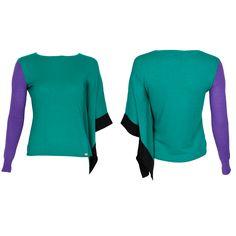 #whoswho #greenbird #marinamall #abudhabi #abudhabifashion #abudhabistyle #dubai #dubaifashion #dubaistyle #fashionista #womenswear #eveningwear #casualwear #fall2013 #winter2014 #flowing #cape #turquoise #purple