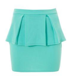 Lipsy Peplum Layered Skirt