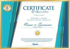 Design Retro, Id Card Template, Stock Foto, Appreciation, Templates, Illustration, Cards, Vector Illustrations, Certificate