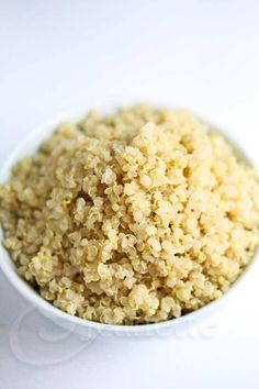 Cooked Quinoa © Jeanette's Healthy Living