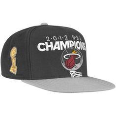 f92171ef847 Miami Heat 2012 NBA Finals Champions Snapback Hat Miami Heat Basketball