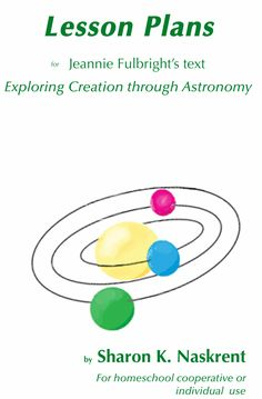 Lesson plans for Apologia Astronomy
