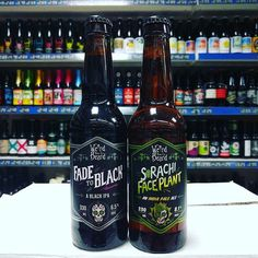 New Beers. Fade to Black - 6.5% BIPA and Sorachi Faceplant - 8.1% IPA from @WeirdBeard_Brew in stock now