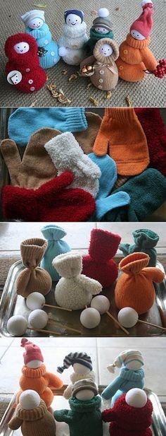 Hobby: Damskie pasje i hobby. Odkryj i pokaż innym Twoje hobby. Sock Crafts, Diy And Crafts, Crafts For Kids, Christmas Makes, Christmas Fun, Christmas Ornaments, Christmas Crafts For Gifts, Christmas Decorations, Diy Adornos