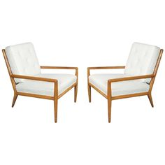 T.H. Robsjohn-Gibbings for Widdicomb Lounge Chairs | From a unique collection of antique and modern lounge chairs at https://www.1stdibs.com/furniture/seating/lounge-chairs/