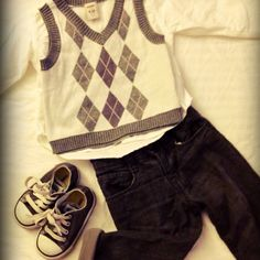 Winter outfit for boys