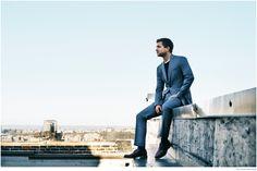 Salvatore Ferragamo A Mens-Story #ALFAIATARIAS #AZUIS #FocusTextil