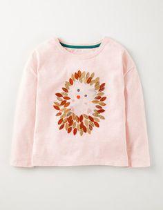 Tutu Pink Hedgehog Woodland Nesting T-shirt Boden