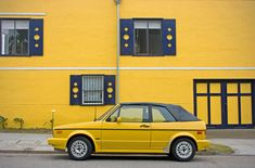 PAD 2007 - 83: Street Parking: Yellow Golf | Part of my stre… | Flickr