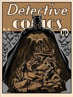 One Year of Batman – Detective Comics 31 by Tim Doyle | Geek Art – Art, Design, Illustration & Pop Culture ! | Art, Design, Illustration & Pop Culture !