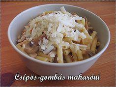 Csípős-gombás makaróni Eve, Cabbage, Urban, Vegetables, Food, Essen, Cabbages, Vegetable Recipes, Meals