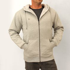 Volcom Mens Standard Sherpa Lined Fleece: Heather Grey £70.00