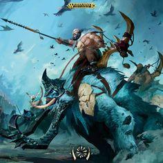 Amazing Artwork: Beastclaw Raiders - Faeit 212: Warhammer 40k News and Rumors