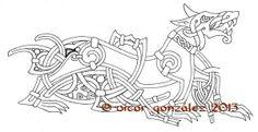 Fenrir Norse Tattoo, Inca Tattoo, Celtic Tattoos, Wiccan Tattoos, Viking Symbols, Viking Runes, Mayan Symbols, Egyptian Symbols, Ancient Symbols