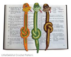 Snake Boa Bookmark or decor https://www.crazypatterns.net/en/items/36009/014-crochet-pattern-snake-boa-bookmark-or-decor-amigurumi-pdf-file-by-zabelina-cp
