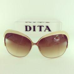 DITA Marseilles Cream Shiny White Gold