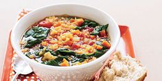 Red+Lentil+and+Vegetable+Soup - GoodHousekeeping.com