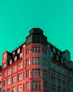 Kleurrijk Hamburg in de fotos van Ali Sahba. Ook te volgen op instagram.