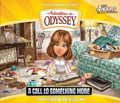 New! Adventures in Odyssey ® #57: A Call to Something  More, CD