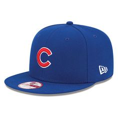 Chicago Cubs New Era Baycik 9FIFTY Snapback Adjustable Hat - Royal