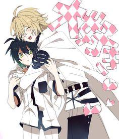 Mika and Yuu (Owari no Seraph) #yaoi #mikayuu #anime
