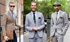 Three Suits. Three Men.