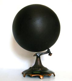 A rarely obtainable and well-preserved early 20th Century Slated ( chalkboard) School Globe
