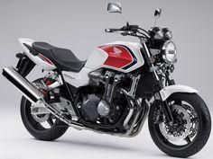 Honda CB1300. Love this factory paint.