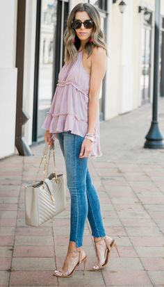 Tiered top in two colors under $50