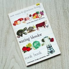Waring Blendor Cookbook Vintage 1950s Appliance by Flourisheshome