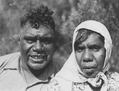 Albert Namatjira y esposa