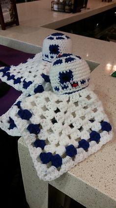 R2-D2 Lovey pattern by Christy Riegel