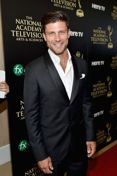 Greg Vaughan Photos - Actor Greg Vaughan attends The Annual Daytime Emmy Awards at The Beverly Hilton Hotel on June 2014 in Beverly Hills, California. - The Annual Daytime Emmy Awards - Red Carpet Gorgeous Men, Beautiful People, Cleft Chin, Greg Vaughan, Soap Opera Stars, Evolution Of Fashion, Personal Image, Charming Man, Days Of Our Lives